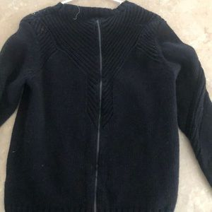 Roxy Sweater with Zipper on back